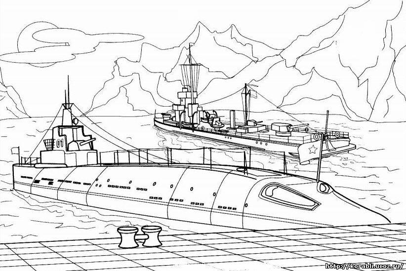 тату эскизы подводных лодок