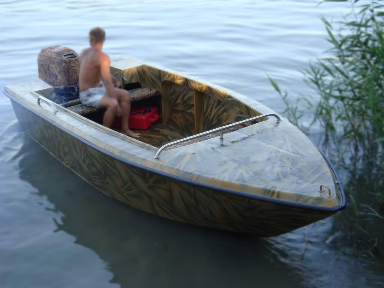 моторные лодки и катера для рыбалки цены