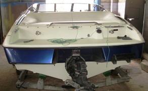 технология ремонта стеклопластиковых лодок