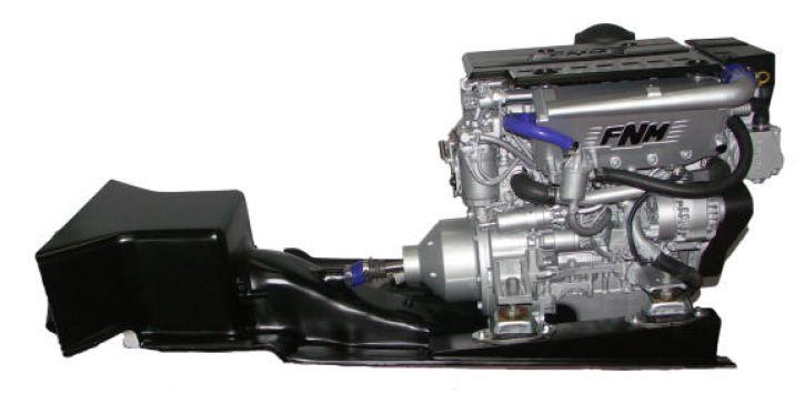 установка стационарного лодочного мотора
