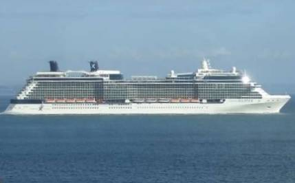 Круизный лайнер Celebrity Solstice компании Celebrity Cruise