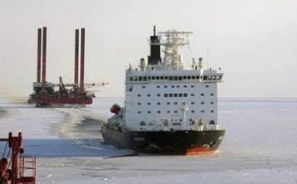 Ледоколы - потенция крушащая льды