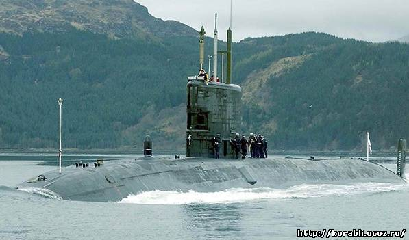 Несчастный случай с подводной лодкой