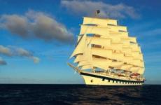Самое большое парусное судно в мире «Royal Clipper»