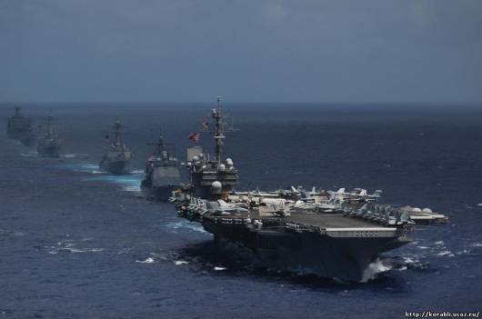 Крупнейшие военно морские учения
