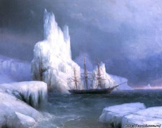 Картины художника мариниста Айвазовского