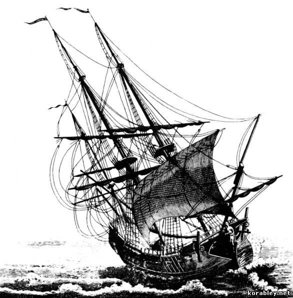 Парусник корабль картинки