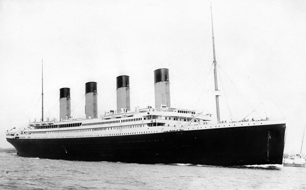 Титаник история факты эвелина бледанс кто ее мать
