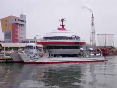 Крутые корабли - футуристическое лодка Voyager