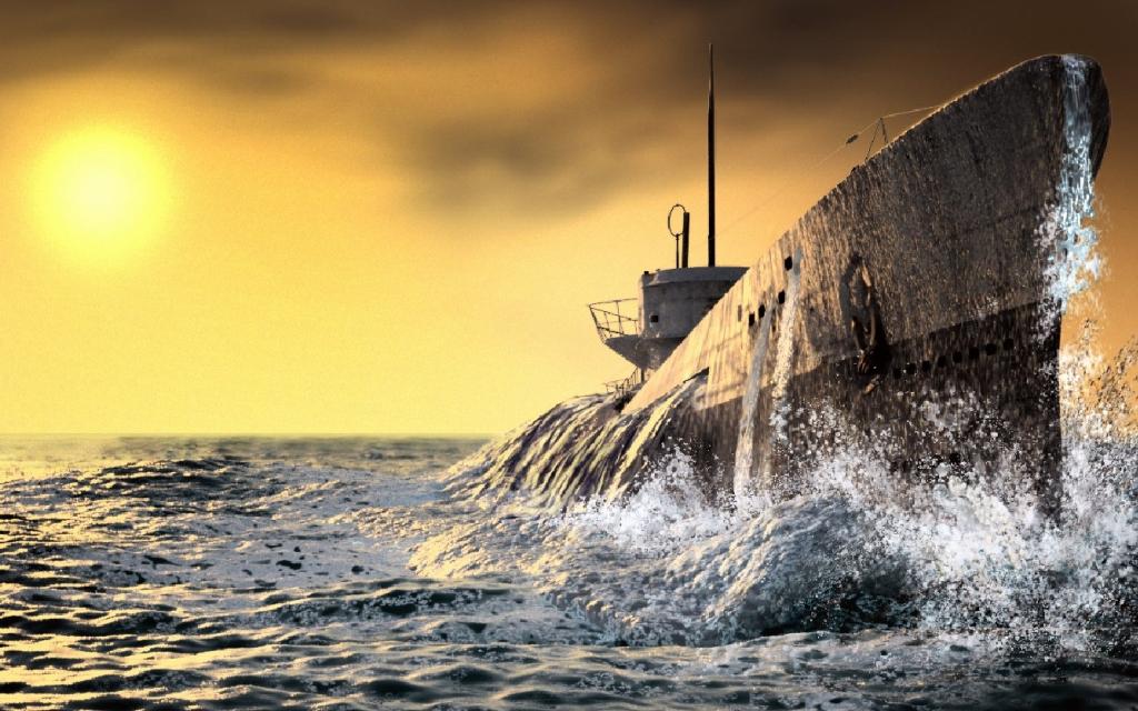 арт подводная лодка