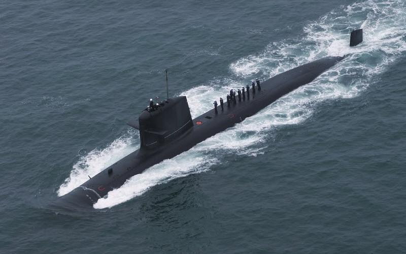 подводная лодка скорпена франция