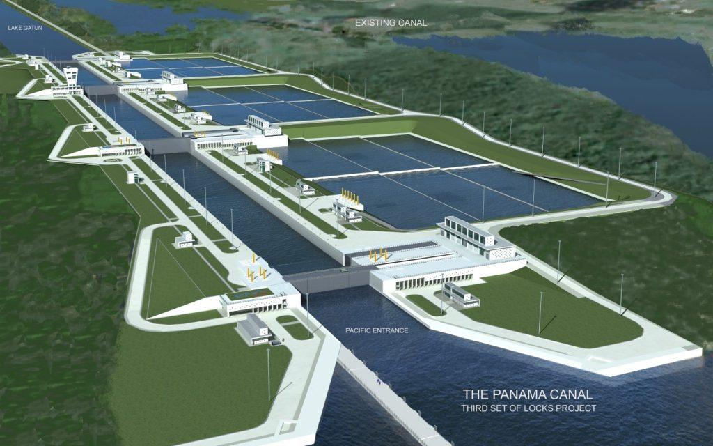 Панамского канала.