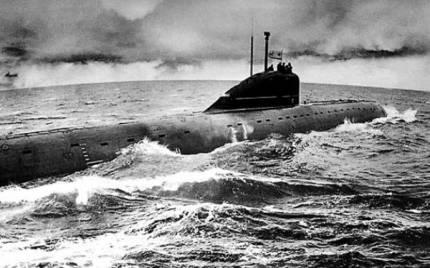 Легендарная атомная подводная лодка к