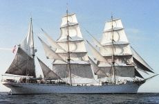 Уникальный барк «HNoMS Statsraad Lehmkuhl»