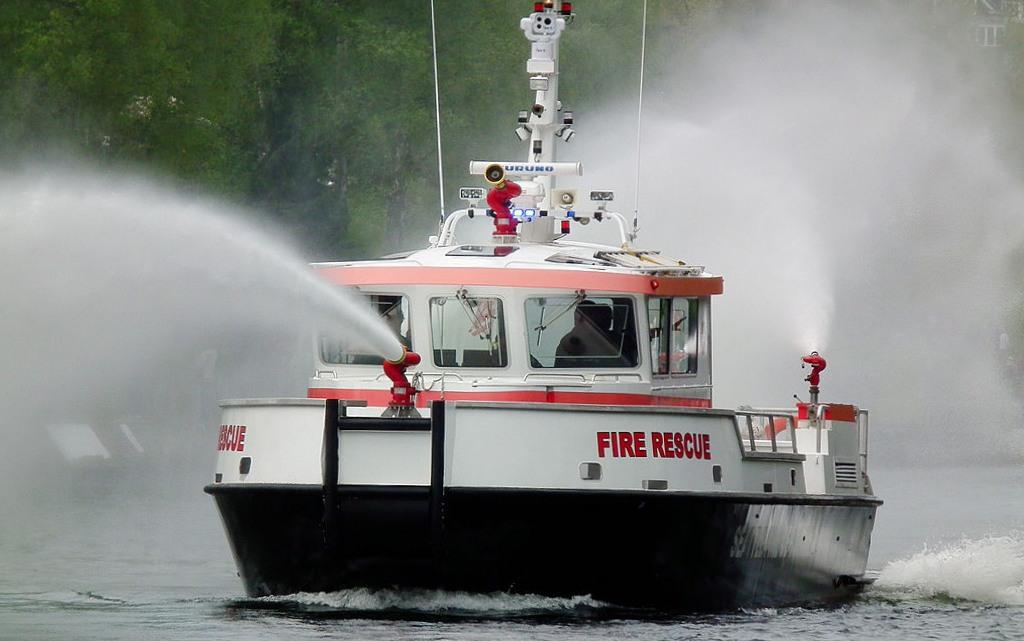 противопожарные лодки