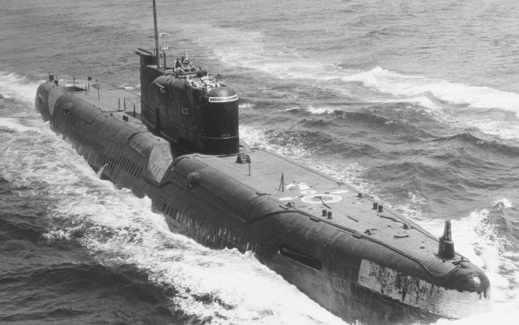 дизельная подводная лодка времен войны