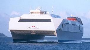 Скоростной паром «Stena Explorer»