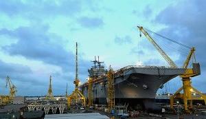 Новейший универсальный десантный корабль