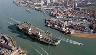 Новейший авианосец «HMS Queen Elizabeth» построен