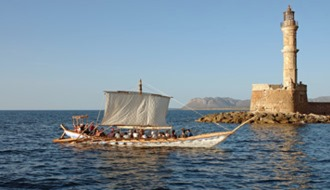 Минойский корабль