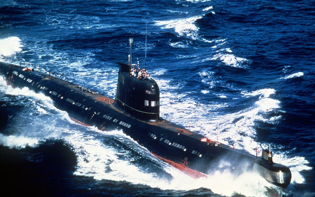 участие подводных лодок