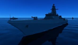 Новейший эсминец проекта 21956