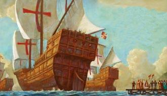 Забытое плавание Христофора Колумба - часть 1