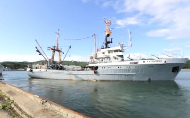 рыболовный флот на дальнем востоке