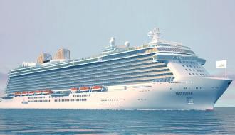 Новейший лайнер «Britannia»