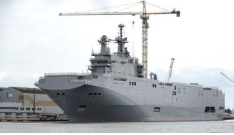 Российские моряки могут похитить десантный корабль