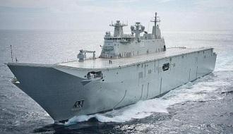 Десантный вертолетоносец корабль-док «HMAS Canberra»