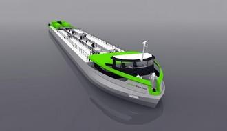 Первое в мире речное СПГ-судно