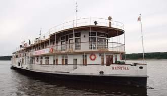 Речные круизы на колесном пароходе