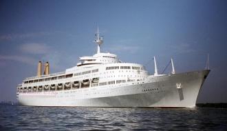 Океанский лайнер «SS Canberra»