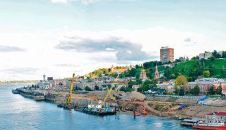 Речной порт Нижнего Новгорода