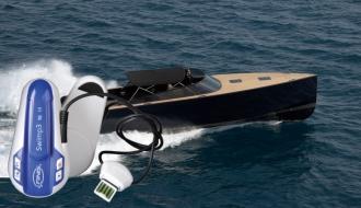 Оригинальная лодка-катер с гаджетом