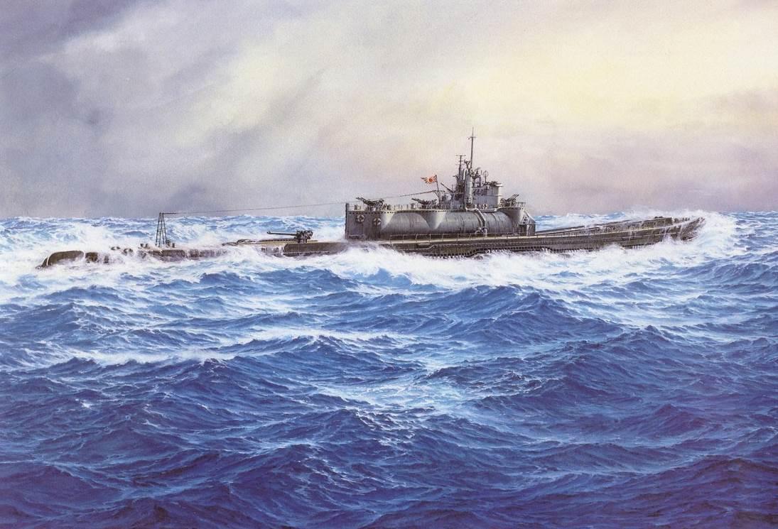 подводные лодки японии во второй мировой войне