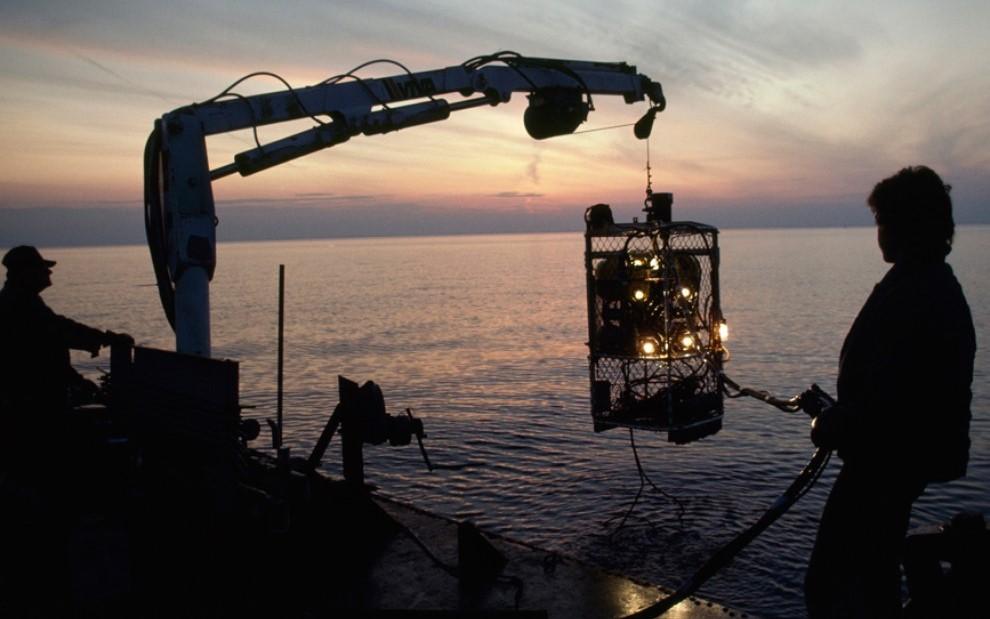 Морские кладоискатели