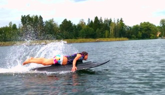 Инновационная доска для серфинга