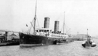 Пассажирское судно «RMS Campania»