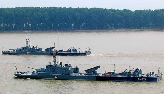 Речные мониторы румынских ВМС