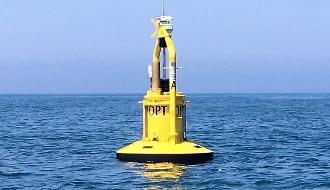 PowerBuoy преобразует энергию волн на электричество