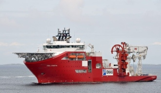Судно к подводного строительства Lewek Connector