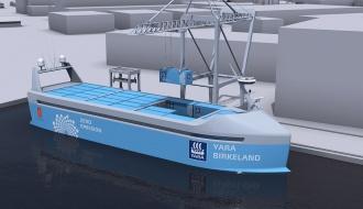 Морские грузоперевозки в автономном контейнеровозе