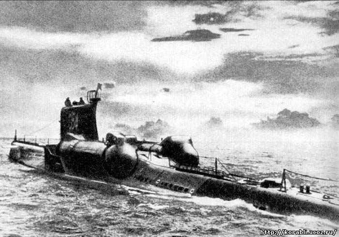 Советская подводная лодка с 80 проекта