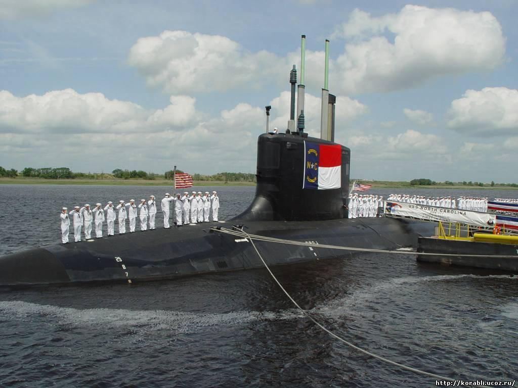 Подводная лодка сша класса uss virginia