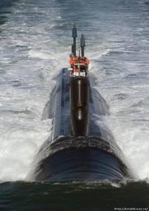 Самая современная атомная подводная лодка США класса «USS Virginia»