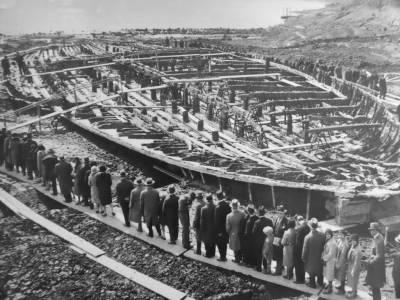 Самые большие корабли античного мира