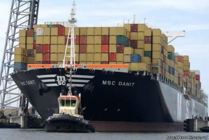 грузовое судно «MSC DANIT»