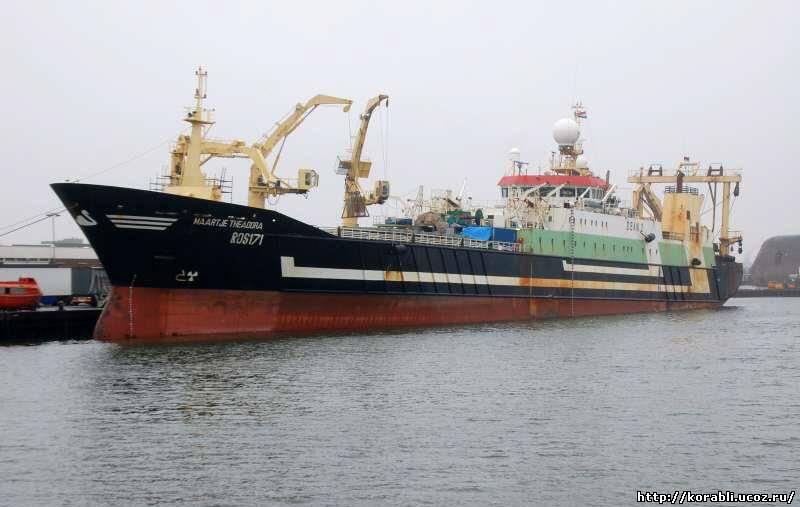 самое большое рыбацкое судно